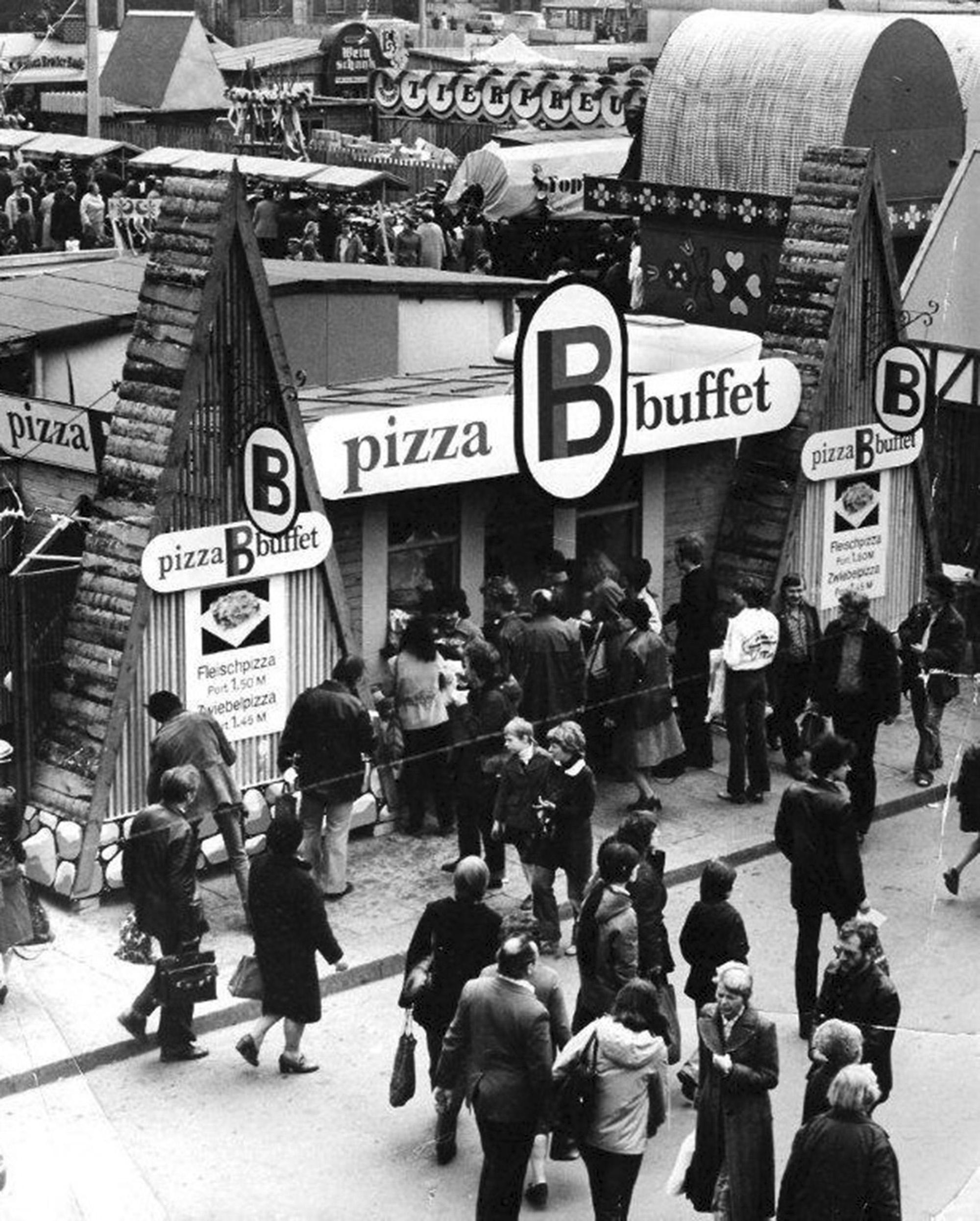 Pizza Buffet DDR